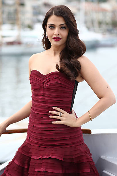 """Actress Aishwarya Rai attends a photocall for """"Jazbaa"""" during the 68th annual Cannes Film Festival on May 19, 2015 in Cannes, France."""