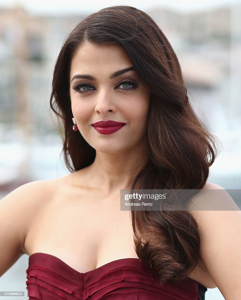 Actress Aishwarya Rai attends a photocall for `Jazbaa` during the 68th annual Cannes Film Festival on May 19 2015 in Cannes France