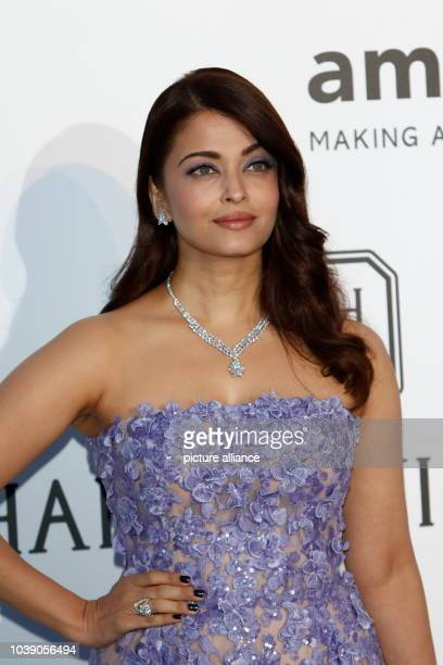 Actress Aishwarya Rai attends amfAR's 22nd Cinema Against Aids gala during the 68th Annual Cannes Filmfest at Hotel du CapEdenRoc in Cap d'Antibes...