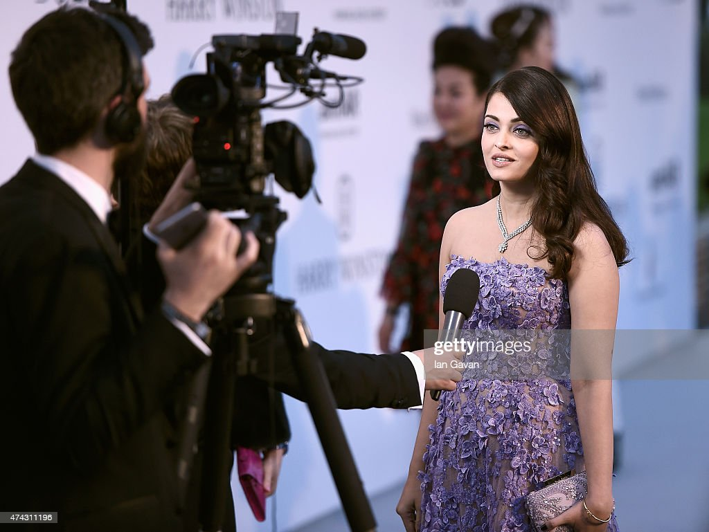 Actress Aishwarya Rai attends amfAR`s 22nd Cinema Against AIDS Gala Presented By Bold Films And Harry Winston at Hotel du CapEdenRoc on May 21 2015...