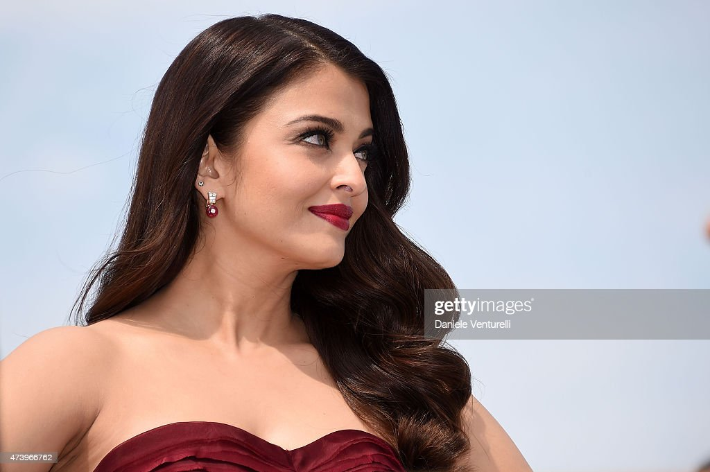 Actress Aishwarya Rai attends the `Jazbaa` Photocall during the 68th annual Cannes Film Festival on May 19 2015 in Cannes France