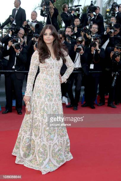 Actress Aishwarya Rai attends the premiere of 'Blood Ties' during the the 66th Cannes International Film Festival at Palais des Festivals in Cannes...