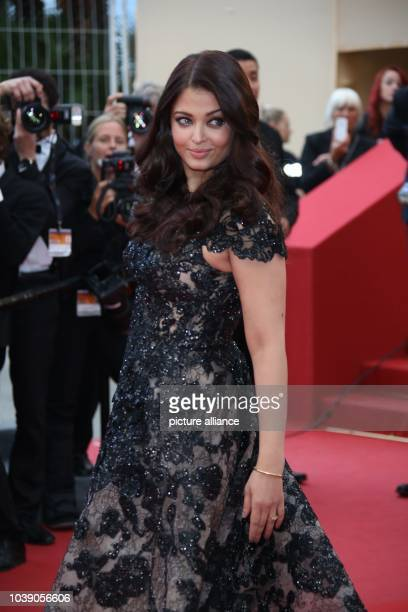 Actress Aishwarya Rai attends the premiere of 'Inside Llewyn Davis' during the the 66th Cannes International Film Festival at Palais des Festivals in...