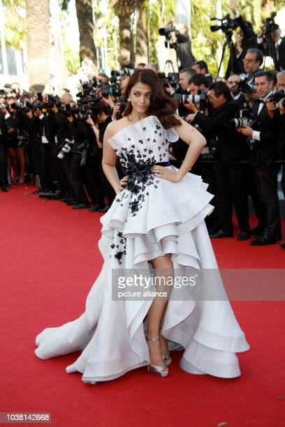 Actress Aishwarya Rai attends the premiere of Youth during the 68th Annual Cannes Filmfest in Cannes France on 20 May 2015 Photo Hubert Boesl...