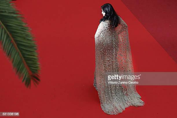 Actress Aishwarya Rai attends the 'Slack Bay ' premiere during the 69th annual Cannes Film Festival at the Palais des Festivals on May 13 2016 in...