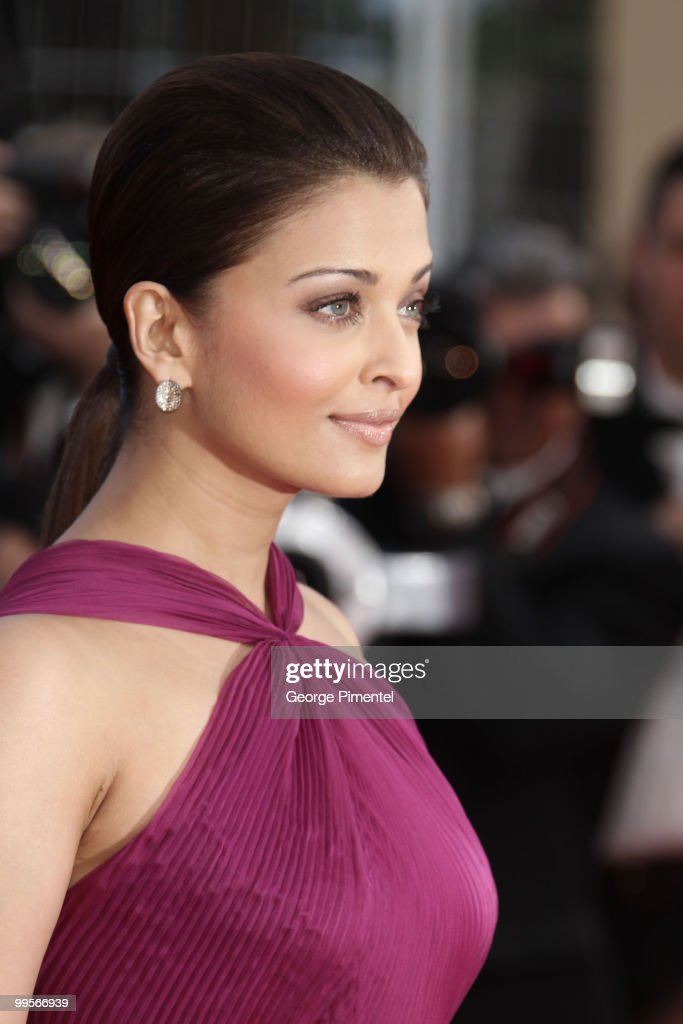 Actress Aishwarya Rai attends the `Wall Street Money Never Sleeps` Premiere at the Palais des Festivals during the 63rd Annual Cannes Film Festiva on.