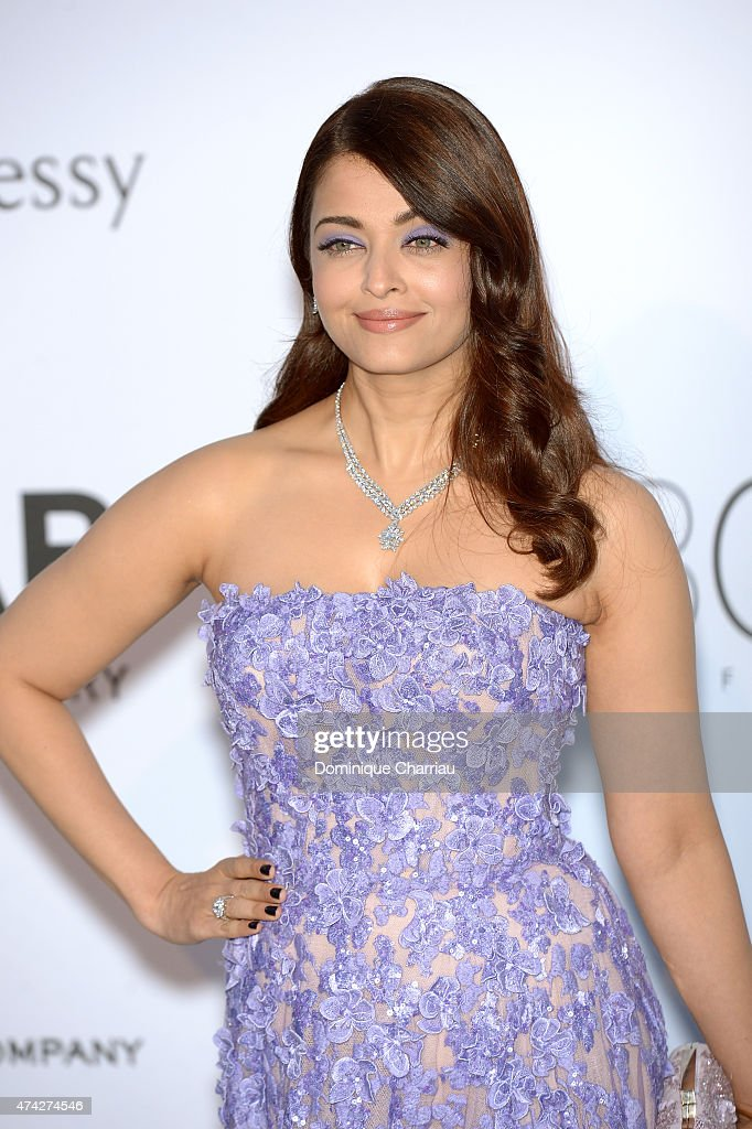 Actress Aishwarya Rai Bachchan attends amfAR's 22nd Cinema Against AIDS Gala Presented By Bold Films And Harry Winston at Hotel du CapEdenRoc on M