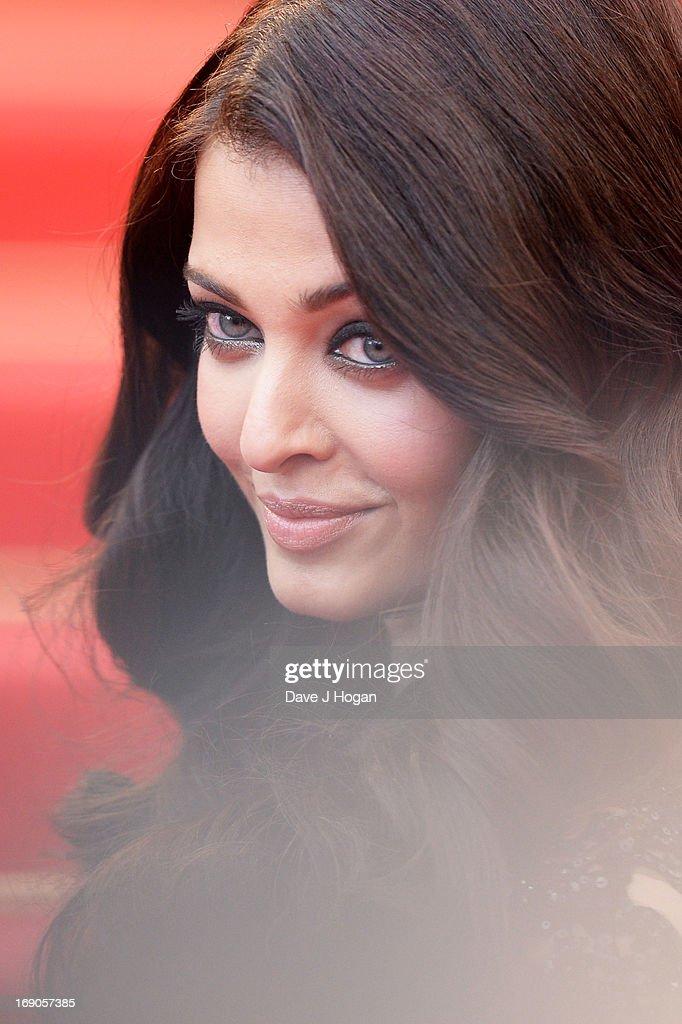 Actress Aishwarya Rai Bachchan attends 'Inside Llewyn Davis' Premiere during the 66th Annual Cannes Film Festival at Palais des Festivals on M