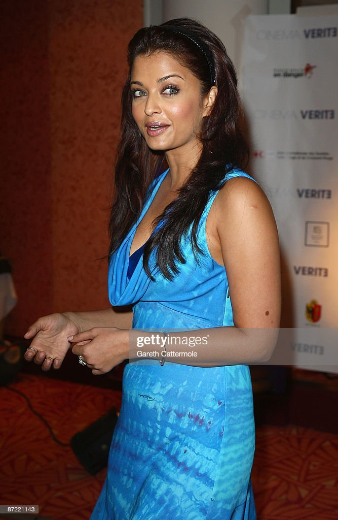 Actress Aishwarya Rai Bachchan attends the Cinema Verite 2009 Press Conference held at the Hotel Martinez during the 62nd International Cannes Film Festival on May 14, 2009 in Cannes, France.