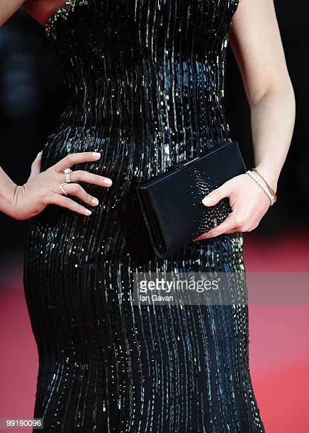 Actress Aishwarya Rai Bachchan attends the 'On Tour' Premiere at the Palais des Festivals during the 63rd Annual Cannes Film Festival on May 13 2010...