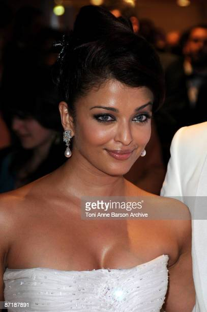 Actress Aishwarya Rai Bachchan attends the Opening Ceremony Dinner at the Palais des Festivals during the 62nd International Cannes Film Festival on...
