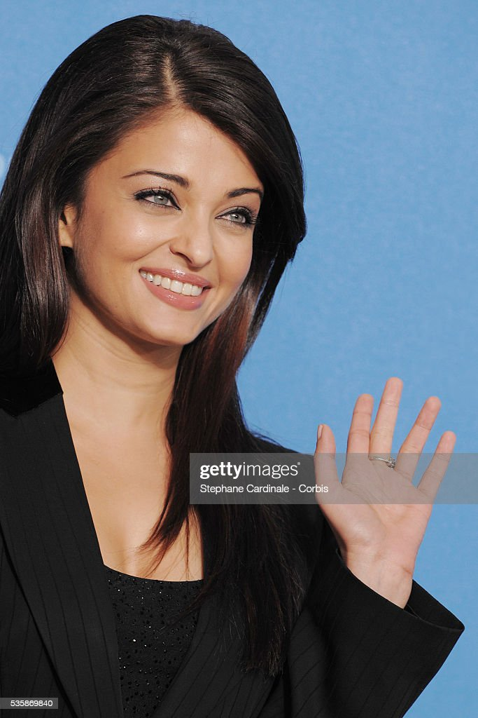 Actress Aishwarya Rai Bachchan attends the photo call of 'The Pink Panther 2' at the 59th annual Berlin Film Festival