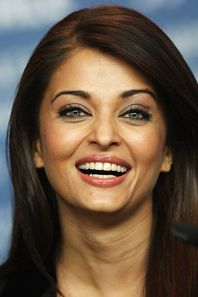 Actress Aishwarya Rai Bachchan attends the photocall for 'Pink Panther 2' as part of the 59th Berlin Film Festival at the Grand Hyatt Hotel on
