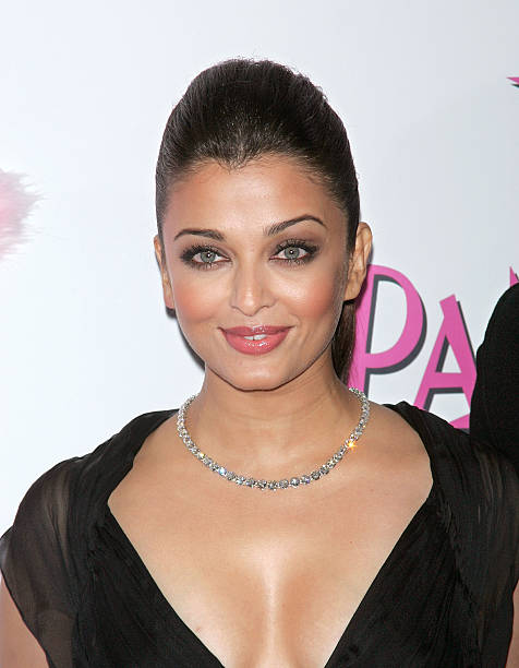 Actress Aishwarya Rai Bachchan attends the premiere of 'The Pink Panther 2' at the Ziegfeld Theater on February 3 2009 in New York City