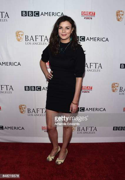 Actress Aisling Bea arrives at the BBC America BAFTA Los Angeles TV Tea Party 2017 at The Beverly Hilton Hotel on September 16 2017 in Beverly Hills...