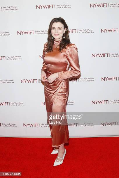 Actress Aisling Bea attends the 2019 NYWIFT Muse Awards at the New York Hilton Midtown on December 10 2019 in New York City