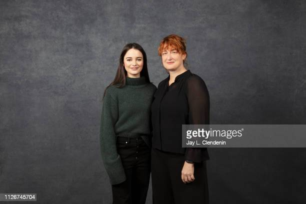 Actress Aisling Franciosi and director Jennifer Kent from 'The Nightingale' are photographed for Los Angeles Times on January 25 2019 at the 2019...