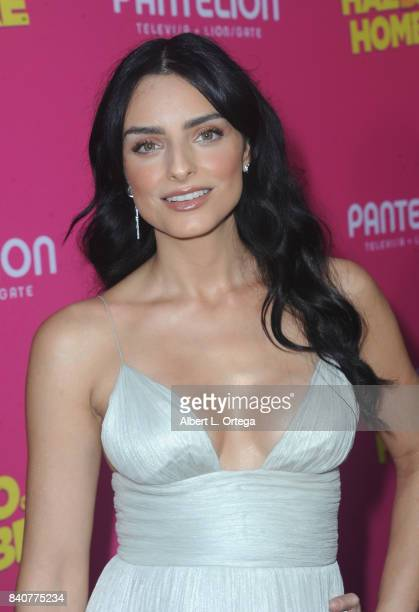 Actress Aislinn Derbez arrives for the Premiere Of Pantelion Films' Hazlo Como Hombre held at ArcLight Cinemas on August 29 2017 in Hollywood...