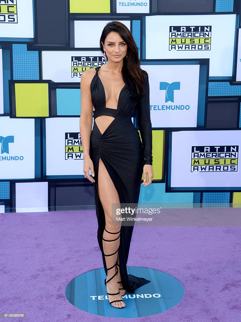 Actress Aislinn Derbez attends the 2016 Latin American Music Awards at Dolby Theatre on October 6, 2016 in Hollywood, California.
