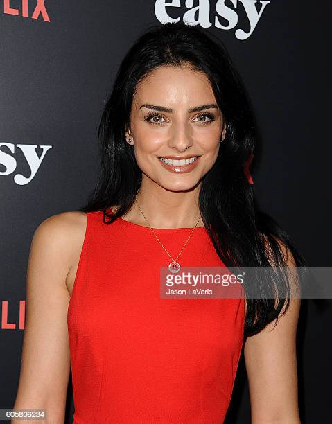 Actress Aislinn Derbez attends the premiere of 'Easy' at The London Hotel on September 14 2016 in West Hollywood California
