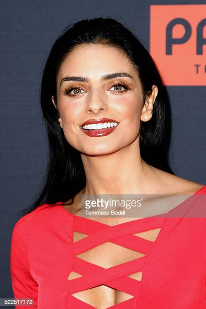 Actress Aislinn Derbez attends the premiere of Pantelion Films' 'Compadres' held at ArcLight Hollywood on April 19 2016 in Hollywood California