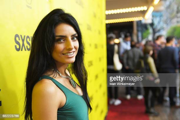 Actress Aislinn Derbez attends the 'Win It All' premiere 2017 SXSW Conference and Festivals on March 11 2017 in Austin Texas