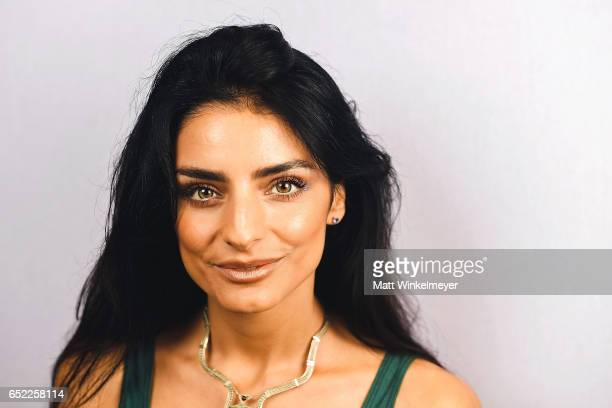 Actress Aislinn Derbez poses for a portrait at the 'Win It All' premiere 2017 SXSW Conference and Festivals on March 11 2017 in Austin Texas