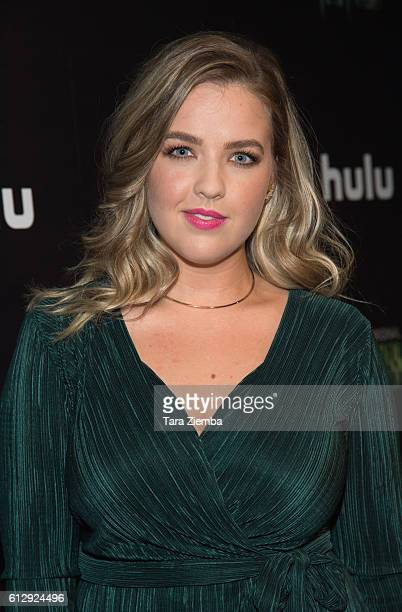 Actress Aislinn Paul attends the premiere of Hulu's 'Freakish' at Smogshoppe on October 5 2016 in Los Angeles California