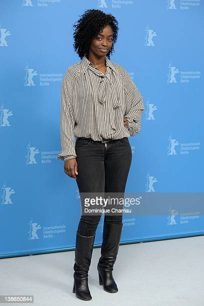 Actress Aissa Maiga attends the 'Aujourd'Hui' Photocall during day two of the 62nd Berlin International Film Festival at the Grand Hyatt on February...