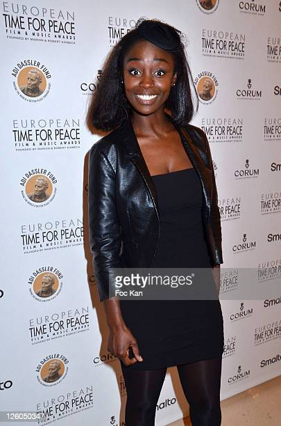 Actress Aissa Maiga attends the 'European Time For Peace Awards' at the Hotel Ritz on December 10 2010 in Paris France