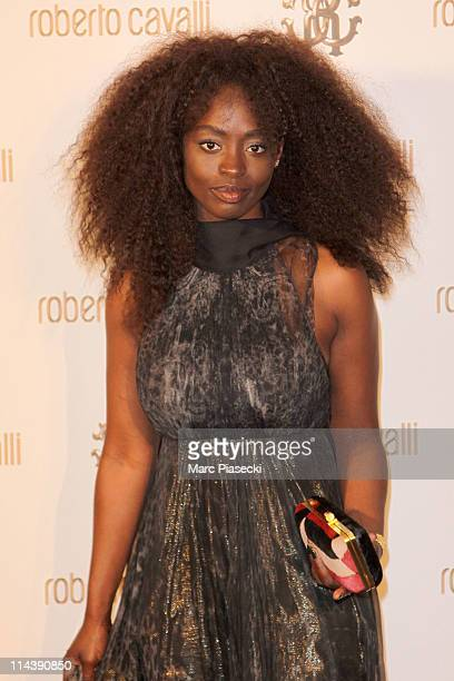 Actress Aissa Maiga attends the private dinner on 'Cavalli' photocall yacht on May 18 2011 in Cannes France