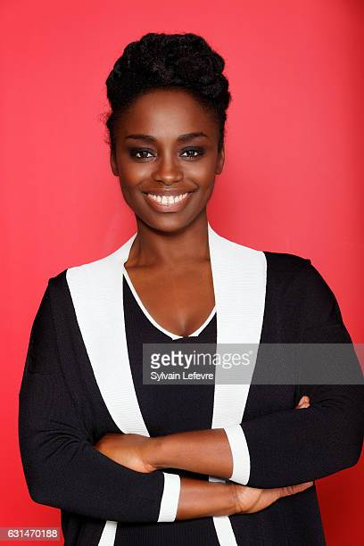 Actress Aissa Maiga is photographed for Self Assignment on January 9 2017 in Lille France