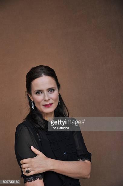 Actress Aitana Sanchez Gijon is photographed for Self Assignment on September 20 2016 in San Sebastian Spain
