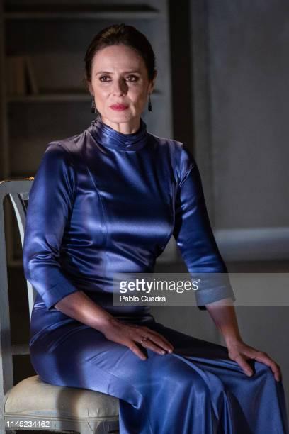 Actress Aitana SanchezGijon attends La Vuelta De Nora Casa De Muñecas 2 photocall at Bellas Artes Theatre on April 26 2019 in Madrid Spain