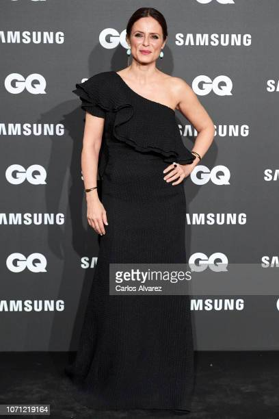 Actress Aitana SanchezGijon attends the 2018 GQ Men of the Year awards at the Palace Hotel on November 22 2018 in Madrid Spain