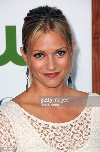 Actress AJ Cook arrives at the TCA Party for CBS The CW and Showtime held at The Pagoda on August 3 2011 in Beverly Hills California