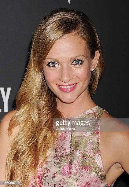 Actress AJ Cook attends The Pink Party 2013 at Barker Hangar on October 19 2013 in Santa Monica California