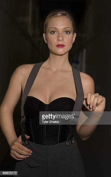 Actress AJ Cook poses for a portrait session in Los Angeles for Item Magazine on September 28 2007 Cover Image