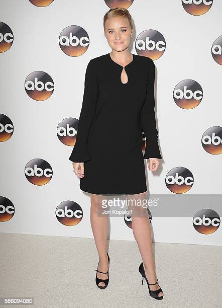 Actress AJ Michalka arrives at Disney ABC Television Group Hosts TCA Summer Press Tour at the Beverly Hilton Hotel on August 4 2016 in Beverly Hills...