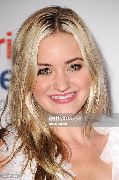 Actress AJ Michalka arrives at the 18th Annual Race To Erase MS at the Hyatt Regency Century Plaza on April 29 2011 in Century City California