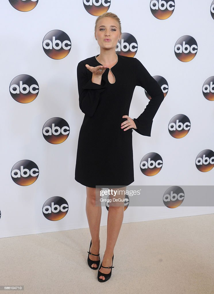 Actress AJ Michalka arrives at the Disney ABC Television Group TCA Summer Press Tour at the Beverly Hilton Hotel on August 4, 2016 in Beverly Hills, California.