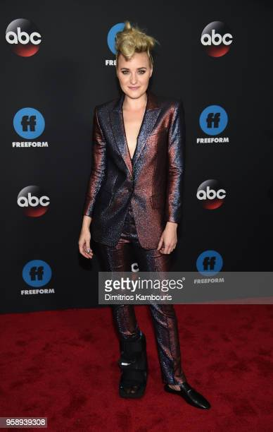 Actress AJ Michalka attends during 2018 Disney ABC Freeform Upfront at Tavern On The Green on May 15 2018 in New York City