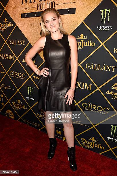 Actress AJ Michalka attends the 2016 MAXIM Hot 100 Party at the Hollywood Palladium on July 30 2016 in Los Angeles California