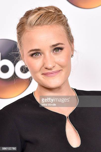 Actress AJ Michalka attends the Disney ABC Television Group TCA Summer Press Tour on August 4 2016 in Beverly Hills California