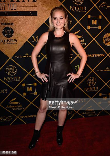 Actress AJ Michalka attends the Maxim Hot 100 Party at the Hollywood Palladium on July 30 2016 in Los Angeles California