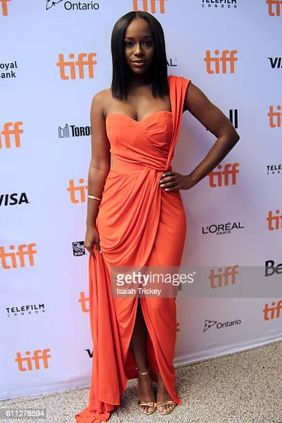 Actress Aja Naomi King attends Fox Searchlight's 'The Birth of a Nation' special presentation during the 2016 Toronto International Film Festival at...