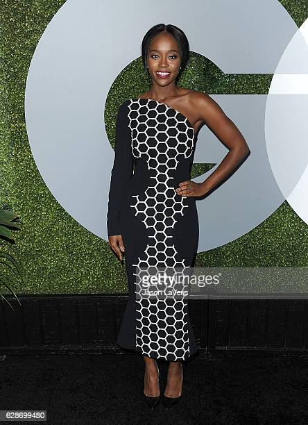 Actress Aja Naomi King attends the GQ Men of the Year party at Chateau Marmont on December 8 2016 in Los Angeles California