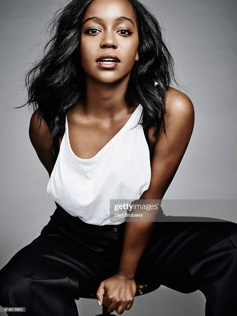 Actress Aja Naomi King is photographed for Interview Magazine on February 25, 2016 in Los Angeles, California.