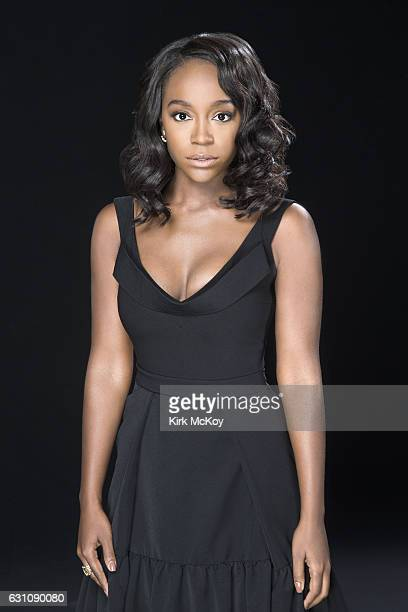 Actress Aja Naomi King is photographed for Los Angeles Times on November 12 2016 in Los Angeles California PUBLISHED IMAGE CREDIT MUST READ Kirk...