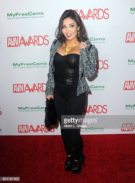 Actress Akira Lane arrives for the 2017 AVN Awards Nomination Party held at Avalon on November 17 2016 in Hollywood California